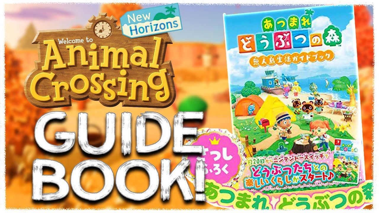 13+ Animal crossing new horizons guide book images