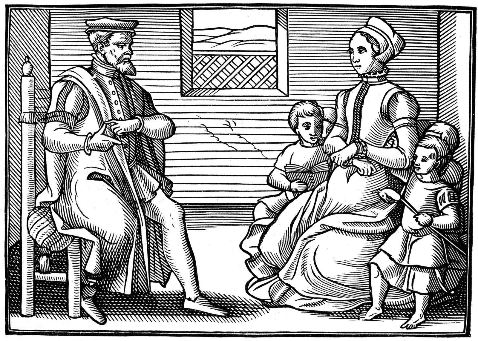 Puritans Article Comprehension Worksheet