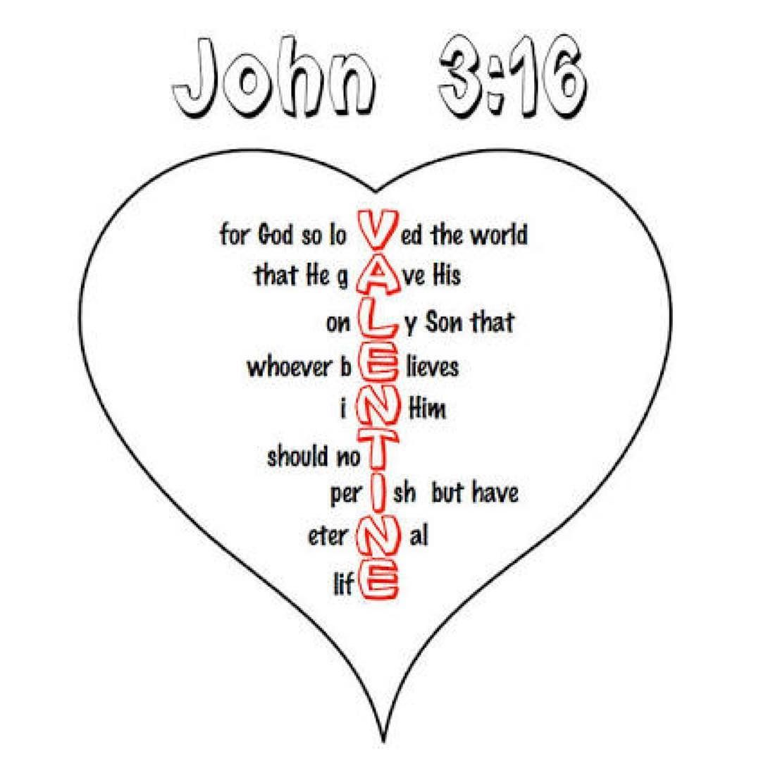 Happy Valentine S Day John 3 16 Niv Bibleverseoftheday