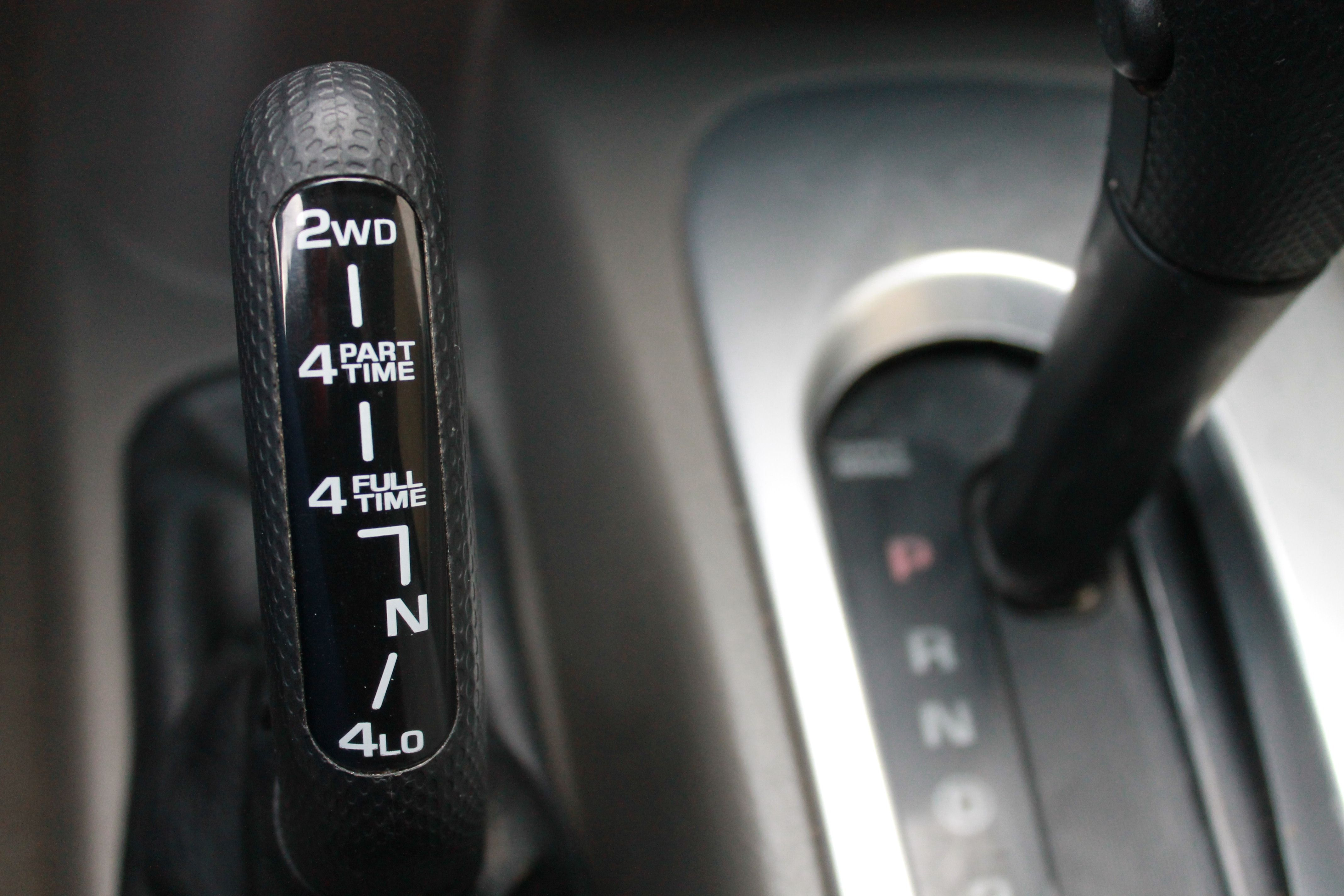 How to shift a jeep liberty into four wheel drive