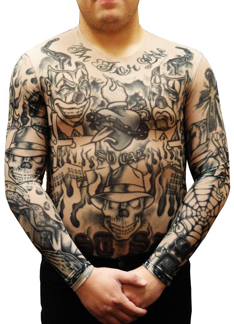 bdda08cc6 Prison Ink Full Body Tattoo Shirt Full Body Tattoo, Tattoo Clothing, Shirt  Sleeves,