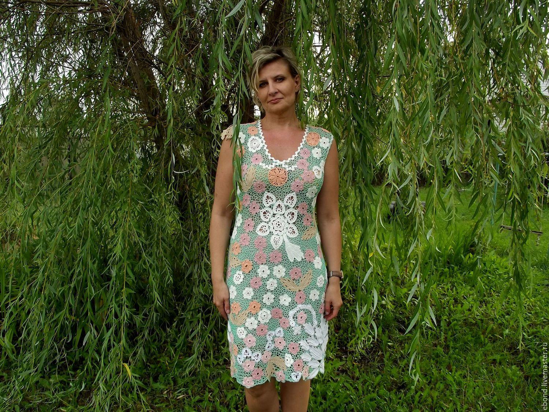 купить вязаное платье на вайлдберриз