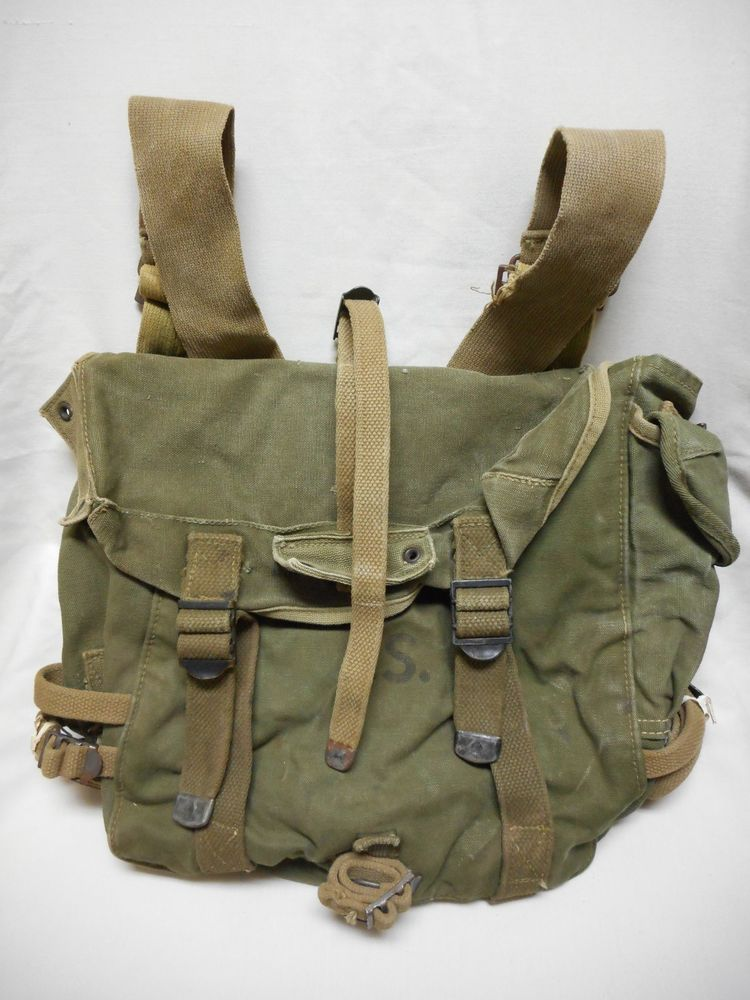 WWII 1945 COMBAT FIELD PACK, HINSON MFG. CO. | Military Gear ...