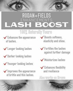 5614f6f4a20 Lash Boost - Longer looking lashes, fuller looking lashes, darker looking  lashes, Rodan + Fields