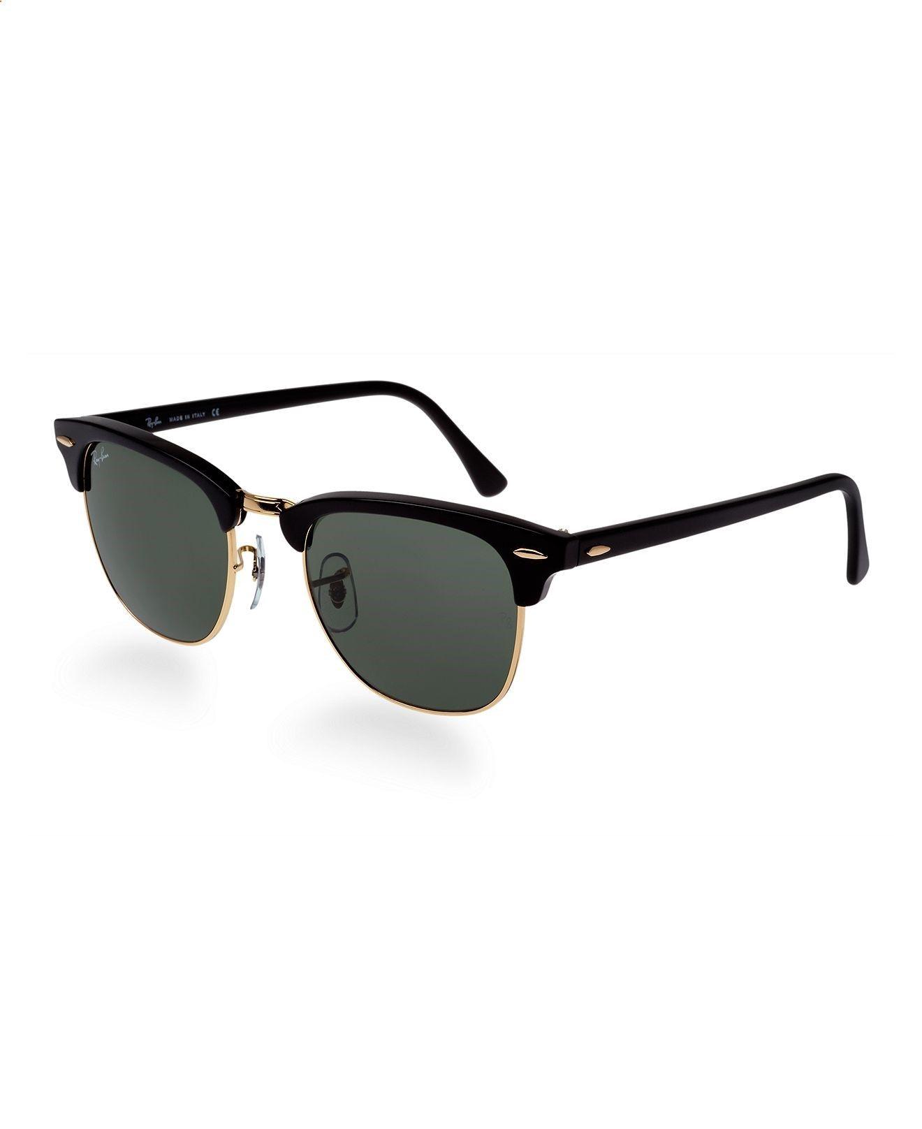 Ray-Ban Sunglasses, RB3016 49 Clubmaster - Sunglasses - Handbags  Accessories - Macys
