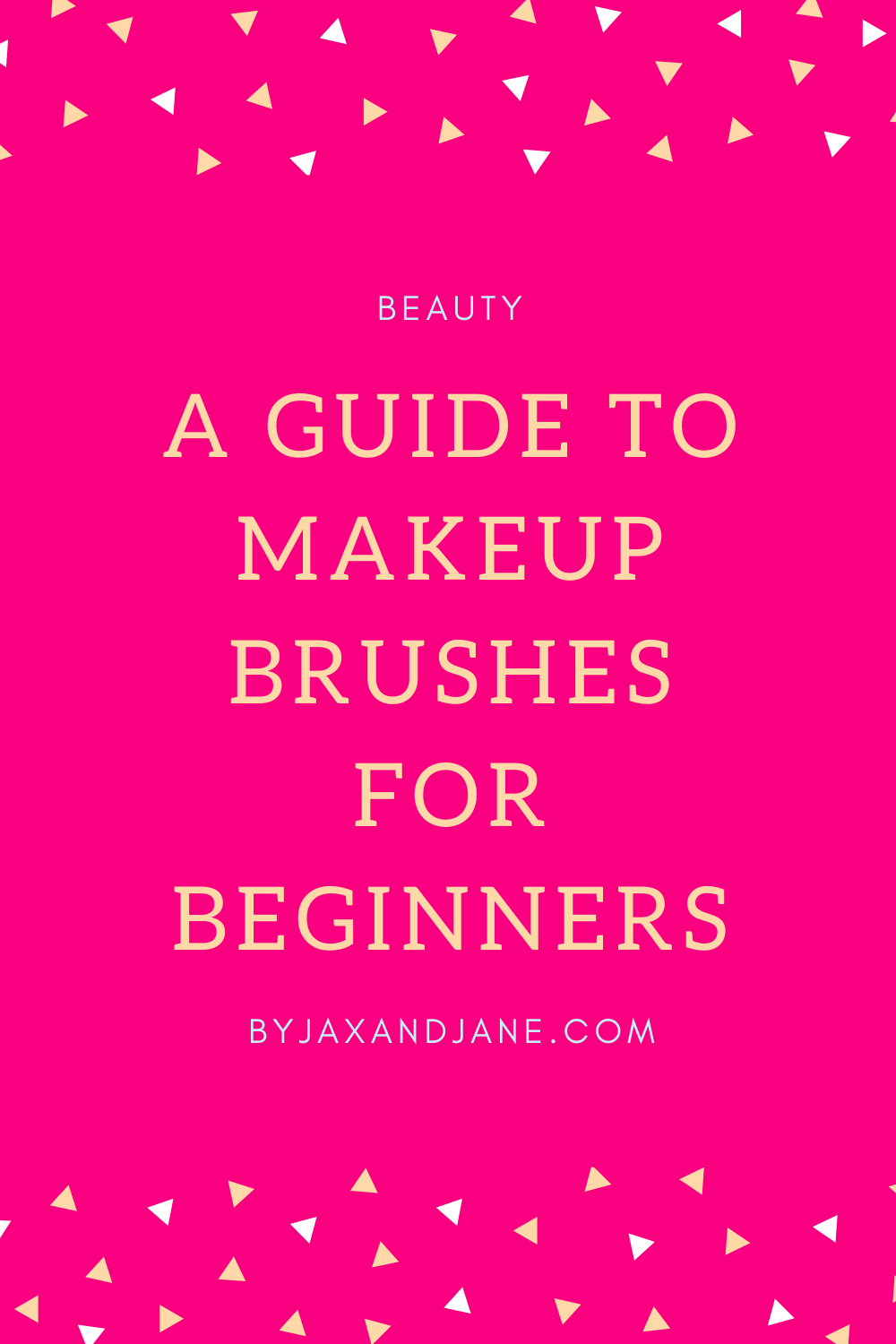 If you are new to makeup you may be overwhelmed by the amount of makeup brushes out there! This is a quick guide to inexpensive makeup brushes that can help get you started at an affordable price. #Makeup #Beauty #Brush #Brushes #MakeupBrushes #Morphe #RealTechniques #Sponge #MakeupSponge #BeginnerMakeup #MakeupGuide #BeginnerMakeupBrushes #AffordableMakeup #AffordableMakeupBrushes via @ byjaxandjane.com