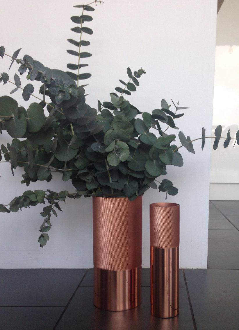 Habitat copper vase