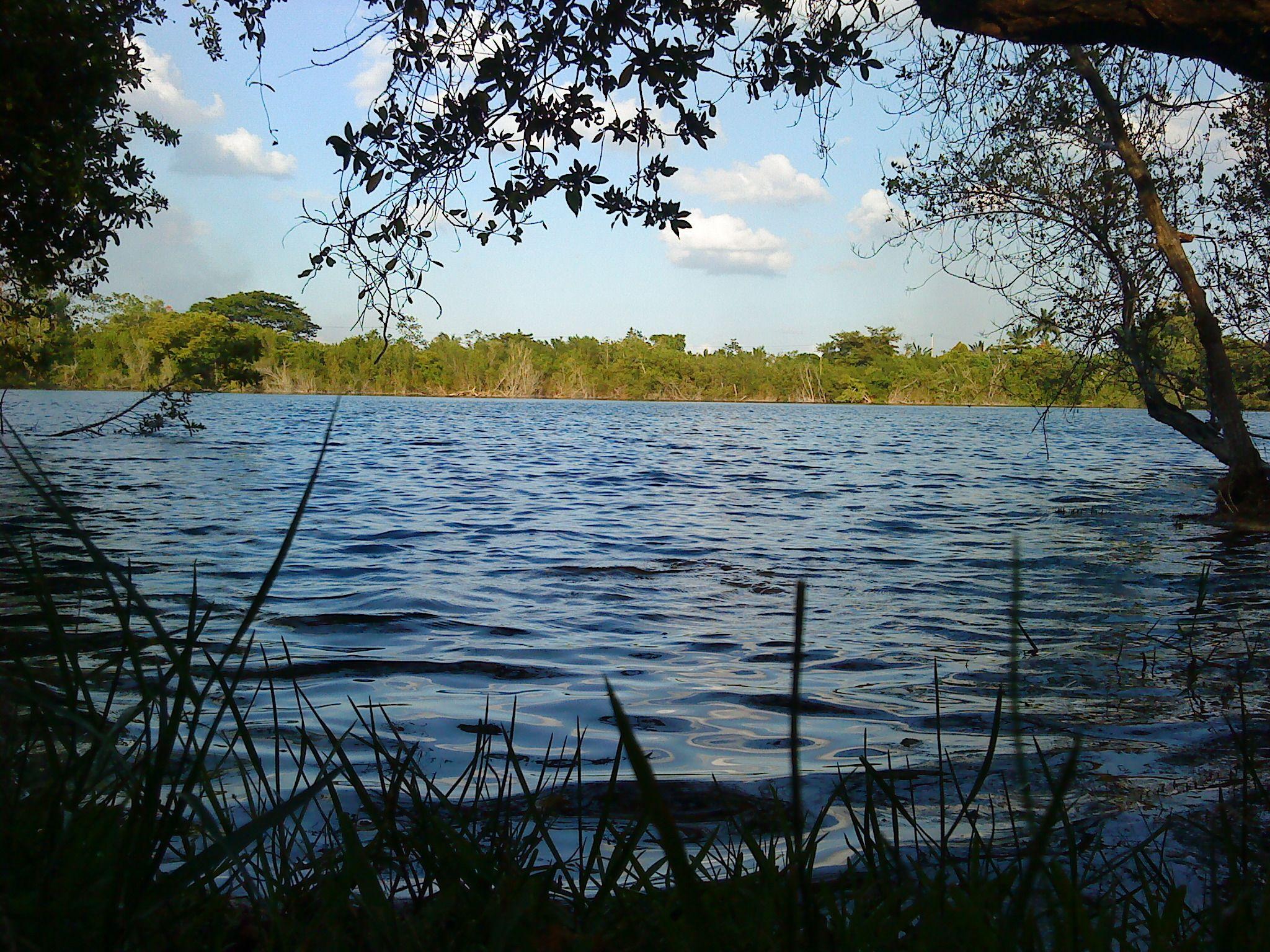 En Cenote Azul se puede nadar y practicar esnórquel.