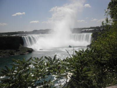 Niagara Falls - what an amazing place! Another must-see is Niagara-on-the-Lake on the Canadian side.