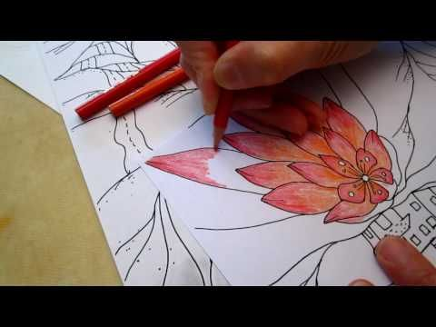 colored pencil techniques blending pdf