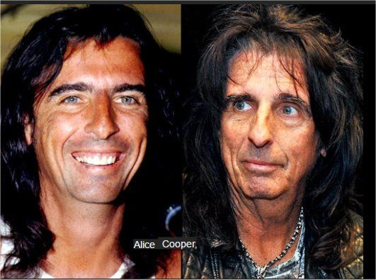 Alice Cooper Then And Now With Images Stars Then And Now