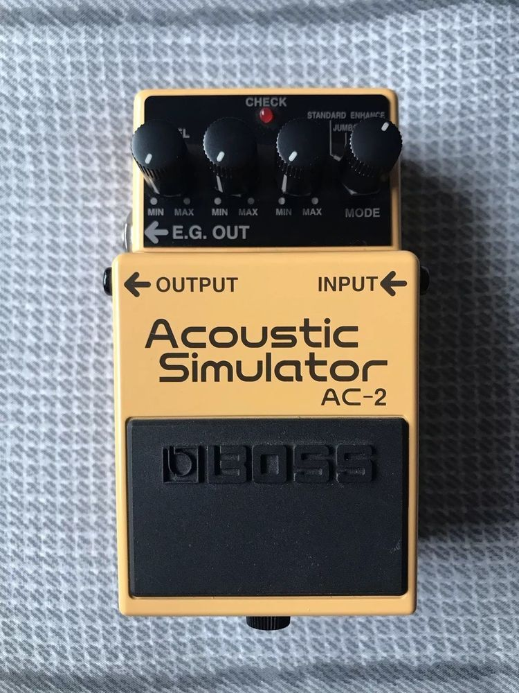 Boss Ac 2 Acoustic Simulator Guitar Effects Pedal