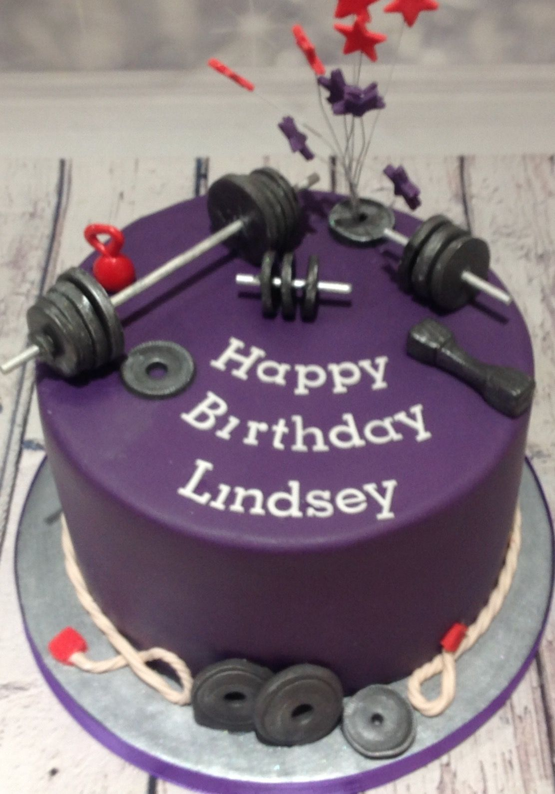 Weightlifting Cake 1 With Images Fitness Cake Cake Cake