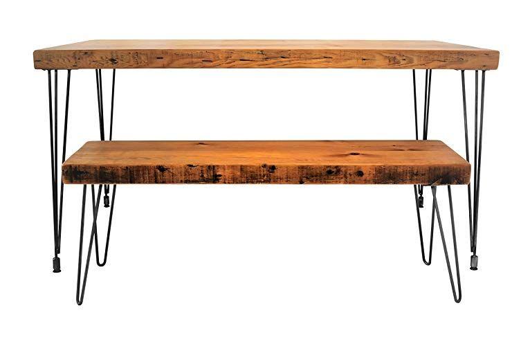 Handmade Reclaimed Wood Dining Table Salvaged Barn Wood 1 65