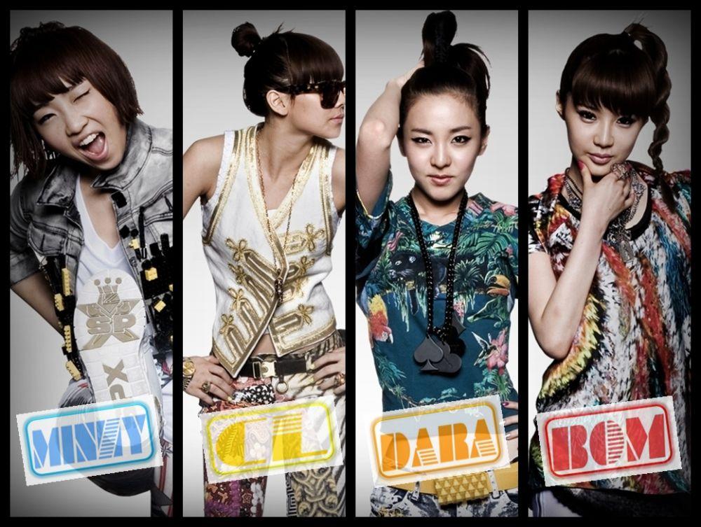 8th Most Talented Idol Group 2ne1 2ne1 Kpop Girl Bands Kpop Girls