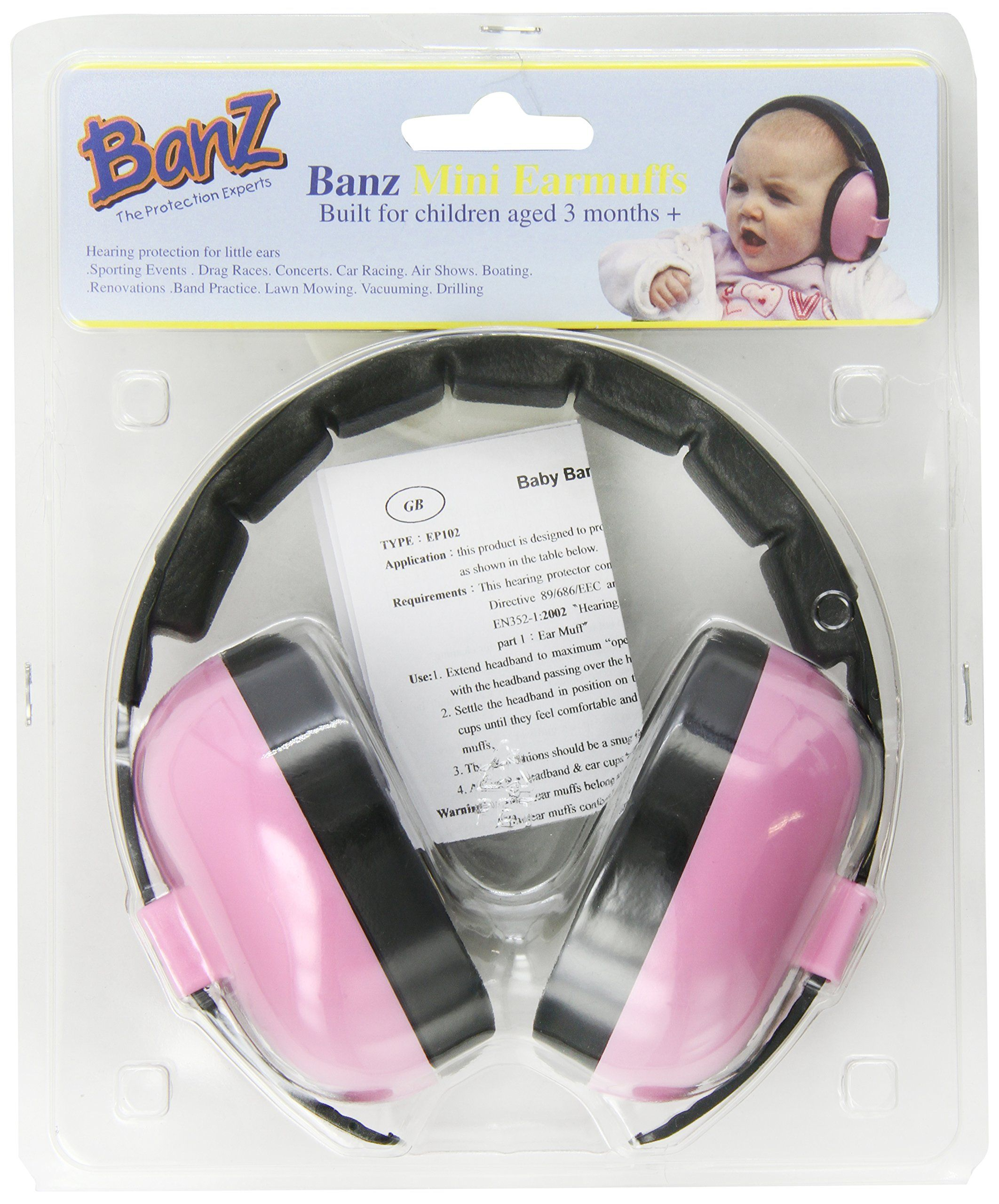 742fb7b38d Amazon.com  Baby Banz earBanZ Infant Hearing Protection