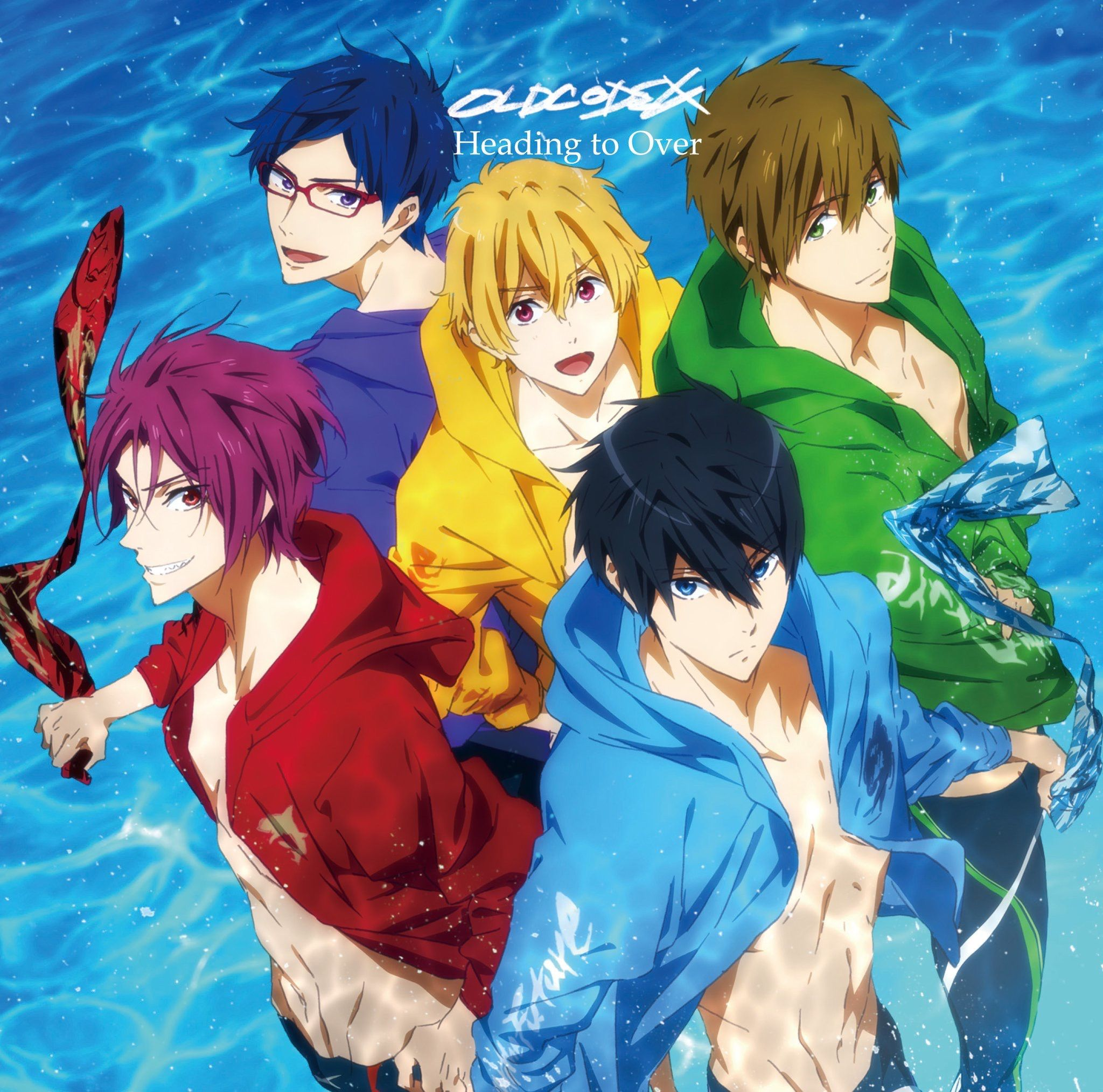Free! Heading to Over OLDCODEX Anime mangas