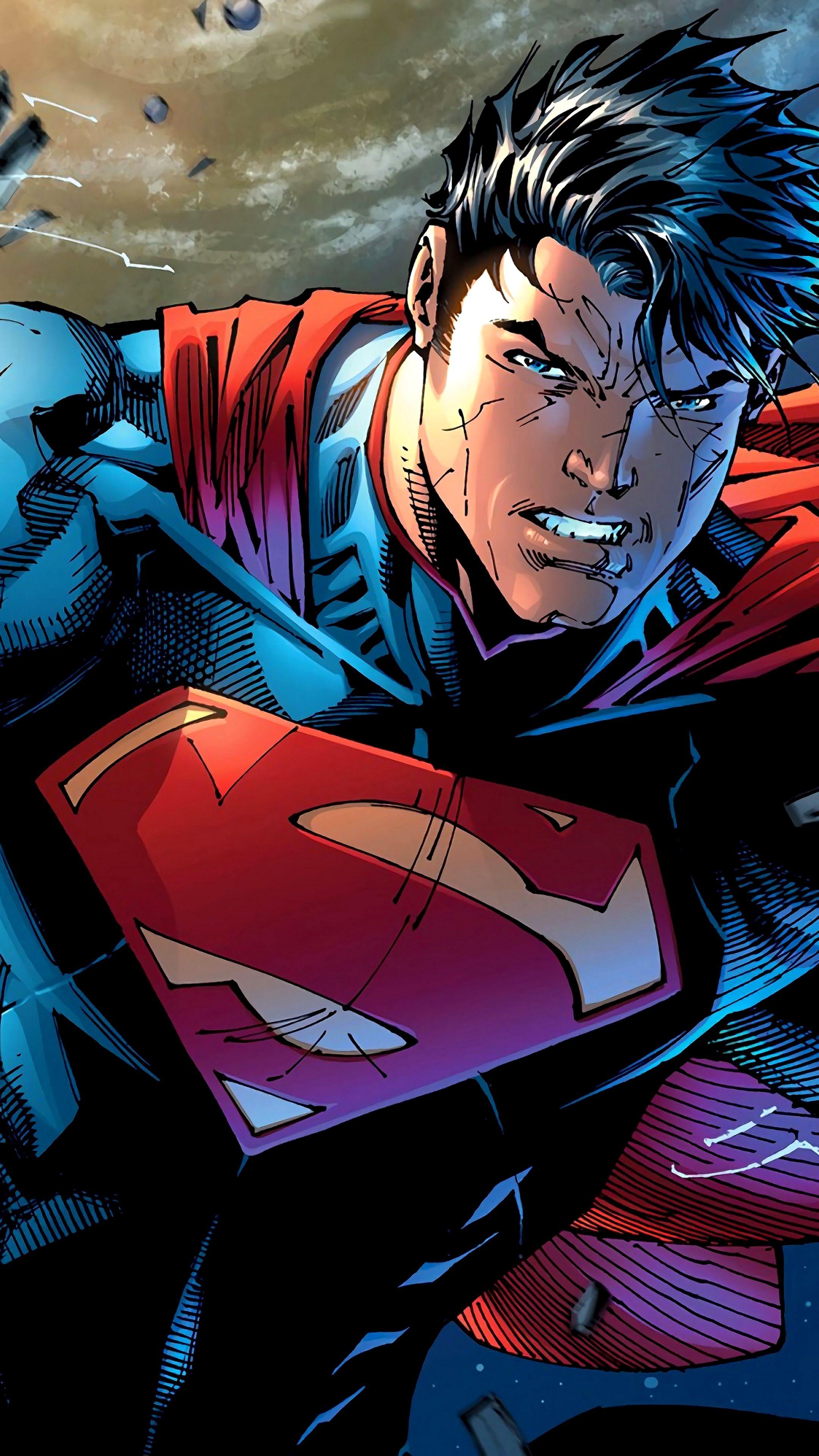Superman Wallpaper 4k Iphone Trick In 2020 Superman Wallpaper Superman Comic Superman Art