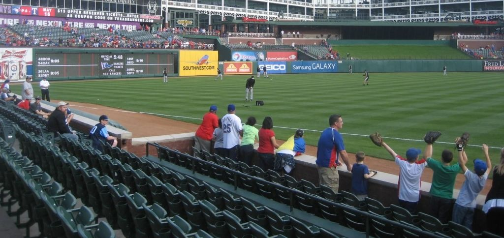 Texas Rangers Seating Chart Seating Charts Texas Rangers Soldier Field Seating