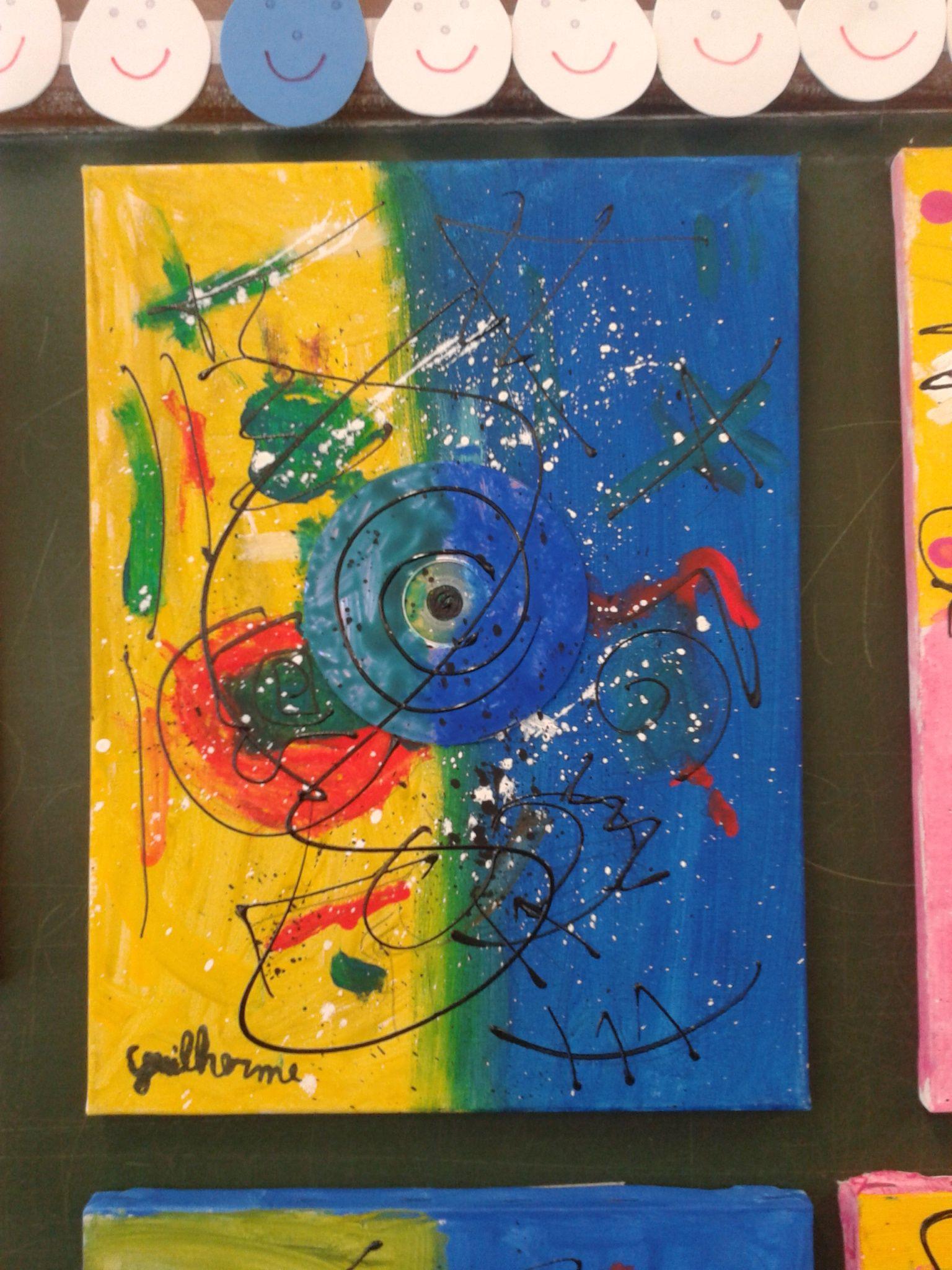 Brincando de Miró Técnica: Mista Ano 2012