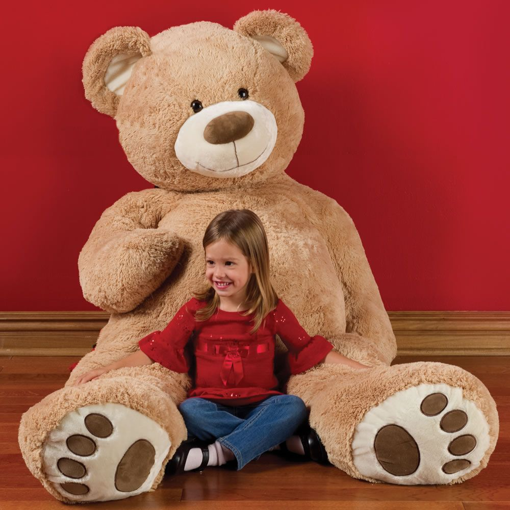 Toys For Tots Bear : The foot teddy bear hammacher schlemmer i bought one