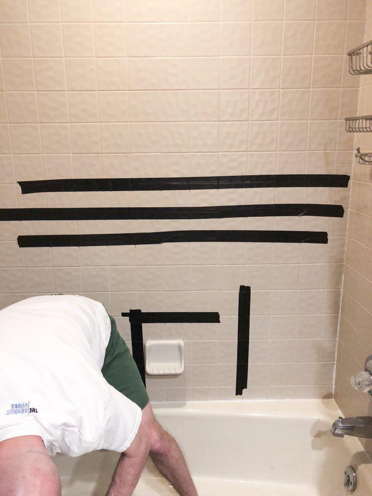 How To Install Bathroom Wall Tiles Bathroom Wall Tile Bathtub Walls Bathroom Remodel Cost