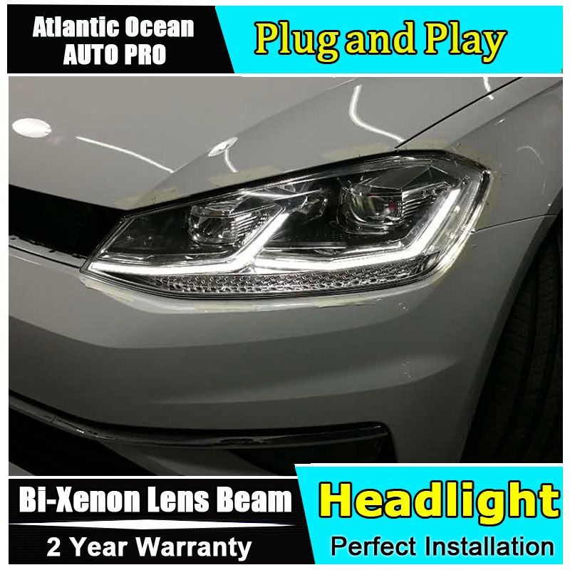 Auto Part Style Led Head Lamp For Vw Golf 7 Led Headlights 2013 2017