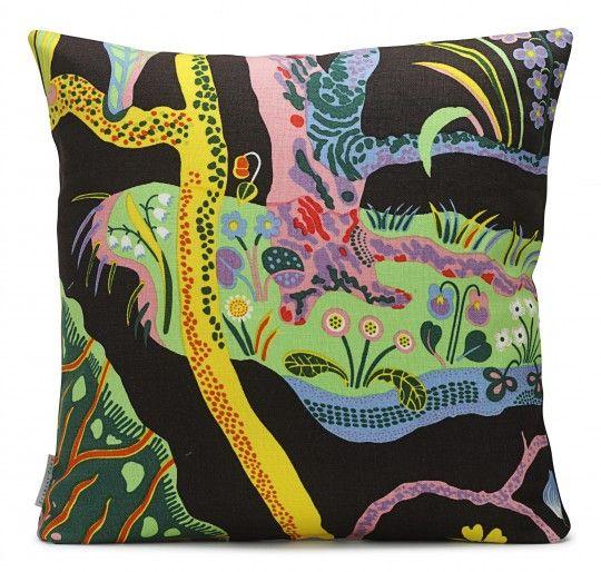 0729474dcae Cushion by Svenskt Tenn, fabric design by Josef Frank | lovely ...