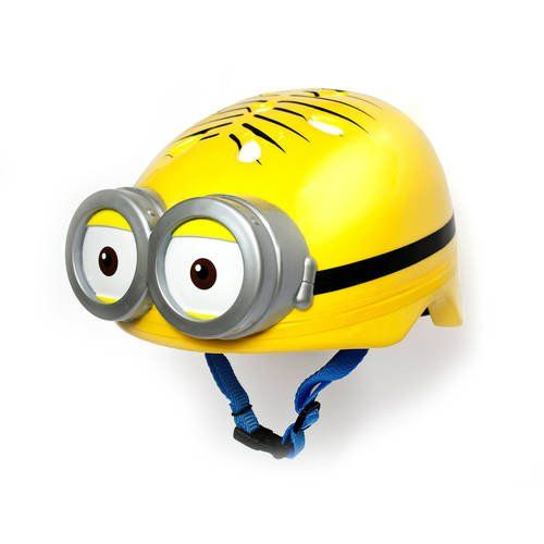 ff7f9c27937 Pin for Later  Your Kids Are Going to Go Bananas For These Minions Toys!  Minion Bike Helmet Practice bicycle safety in style with this Minion Bike  Helmet ...