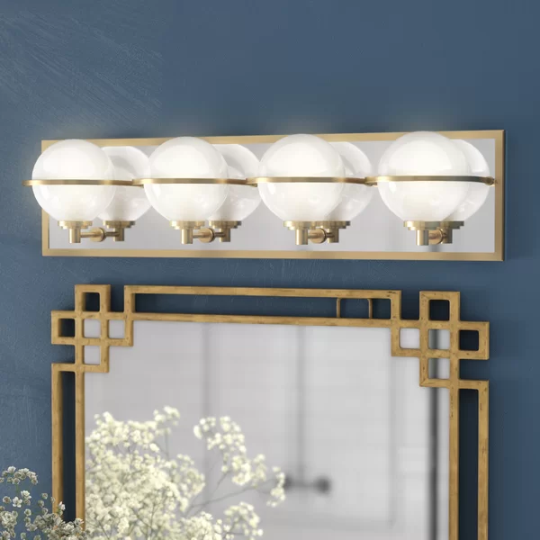 Rawls 4 Light Vanity Light Vanity Lighting Bathroom Vanity Lighting Art Deco Vanity
