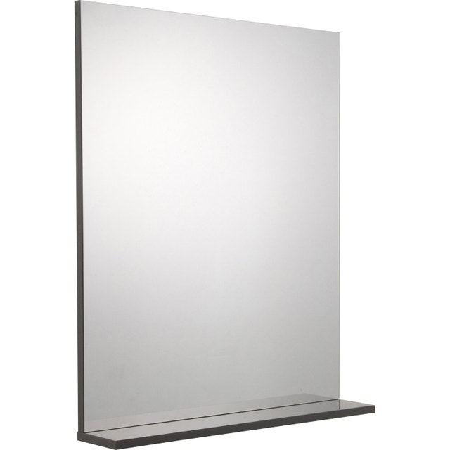 Miroir Avec Tablette Gris L 60 0 Cm Opale En 2019 Miroir Avec Tablette Miroir Et Tablette