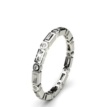 Buy 210mm Full Bezel Setting Full Eternity Diamond Ring Online UK