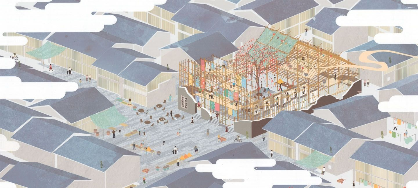 Architecture Drawing Competition 2014 results from the 49th central glass international architectural