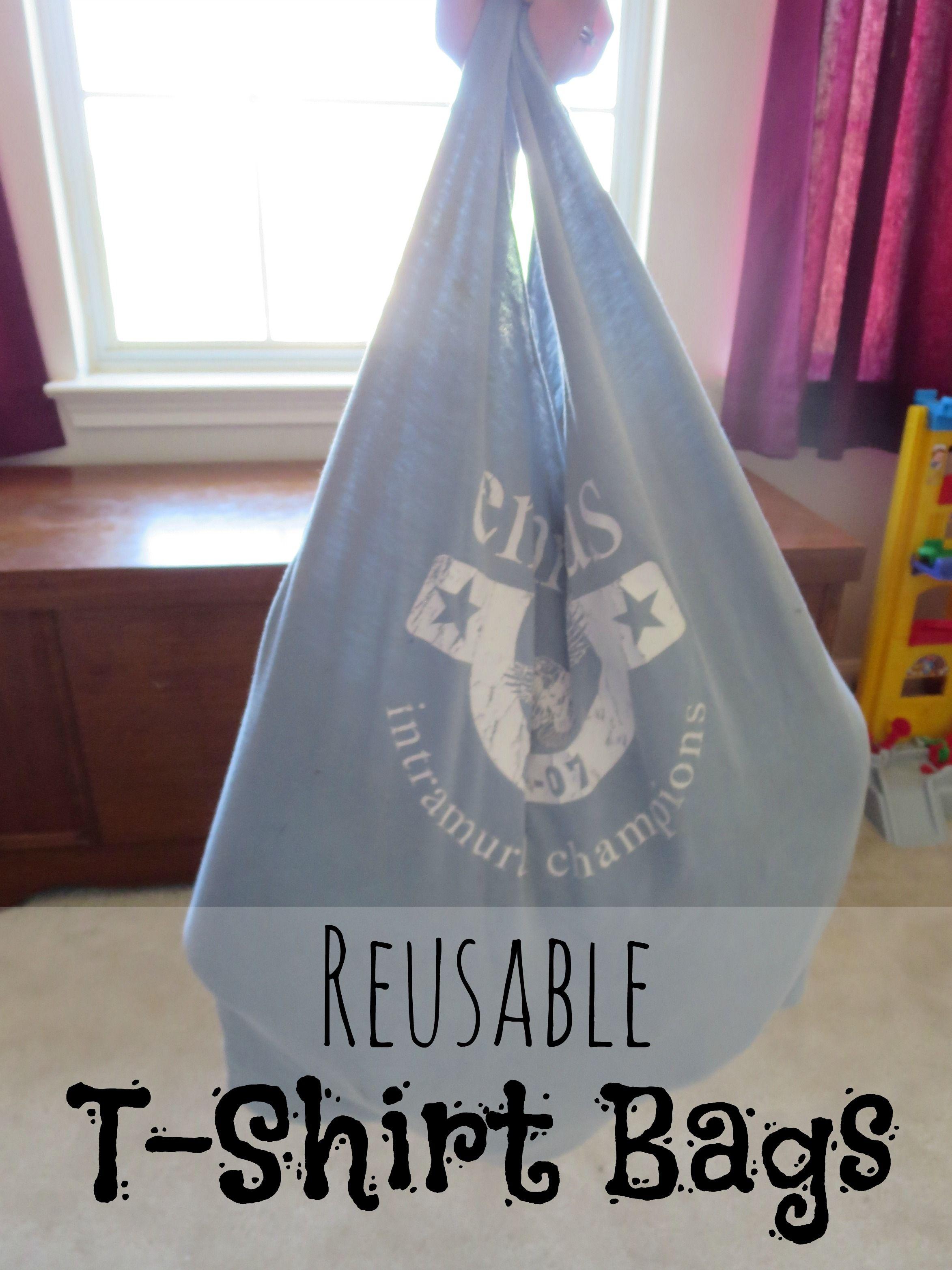 Hippy tip tuesdays reusable tshirt bags shirt bag