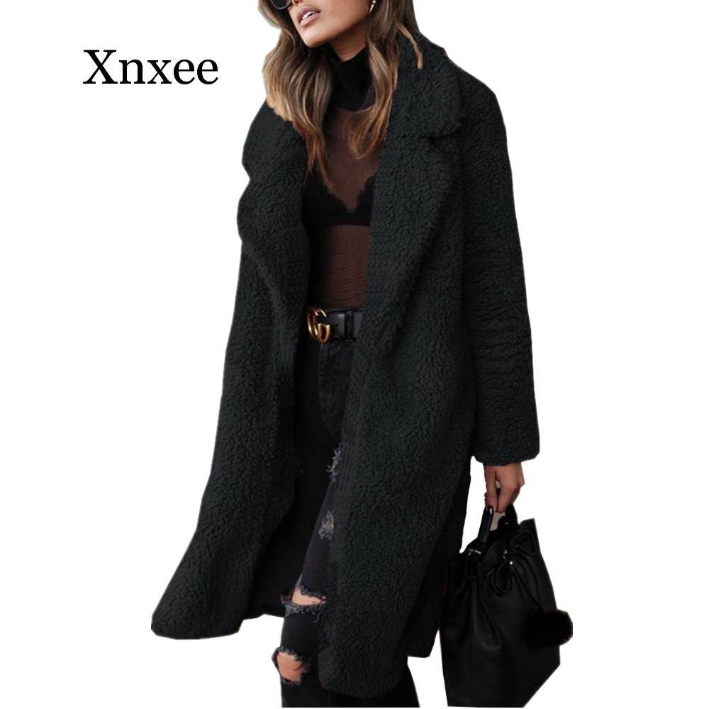2020 Autumn Winter Faux Fur Coat Women Warm Teddy Bear Coat Ladies Fur Jacket Female Teddy Outwear P Womens Faux Fur Coat Fur Jacket Women Winter Faux Fur Coat
