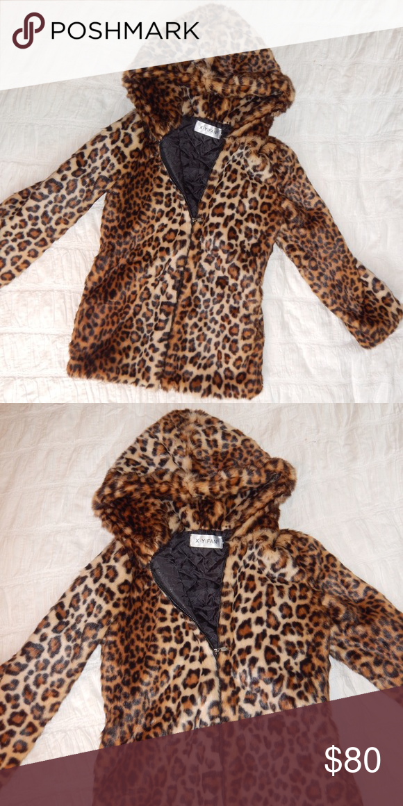 cozy hooded faux fur cheetah jacket animal print cozy hooded faux fur cheetah jacket. Fits like XS. Never worn cuz slightly small on me, I'm 5'6 and I think it would fit someone shorter better. Tagged unif for exposure. Cheaper off site. Tags: animal print, leopard, cheetah, spots, fuzzy, cozy, warm, new, festival fashion, dollskill, wildfox, unif, asos, nastygal, j Valentine UNIF Jackets & Coats