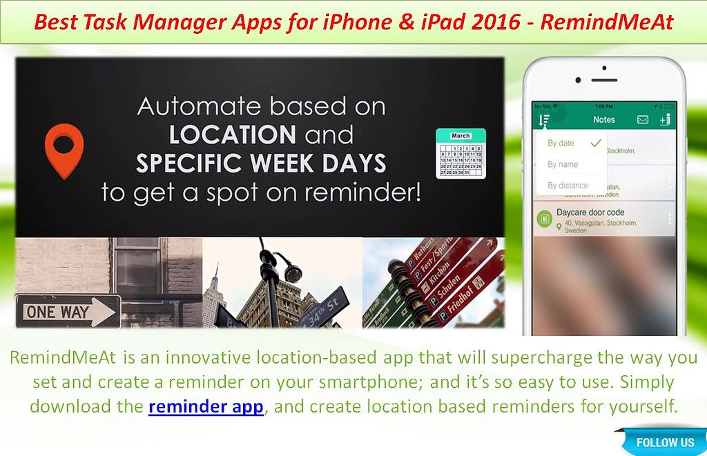 Best Task Manager Apps for iPhone & iPad 2016 RemindMeAt