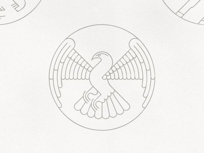 The Symbol Of John The Evangelist Illustration Pinterest Raise