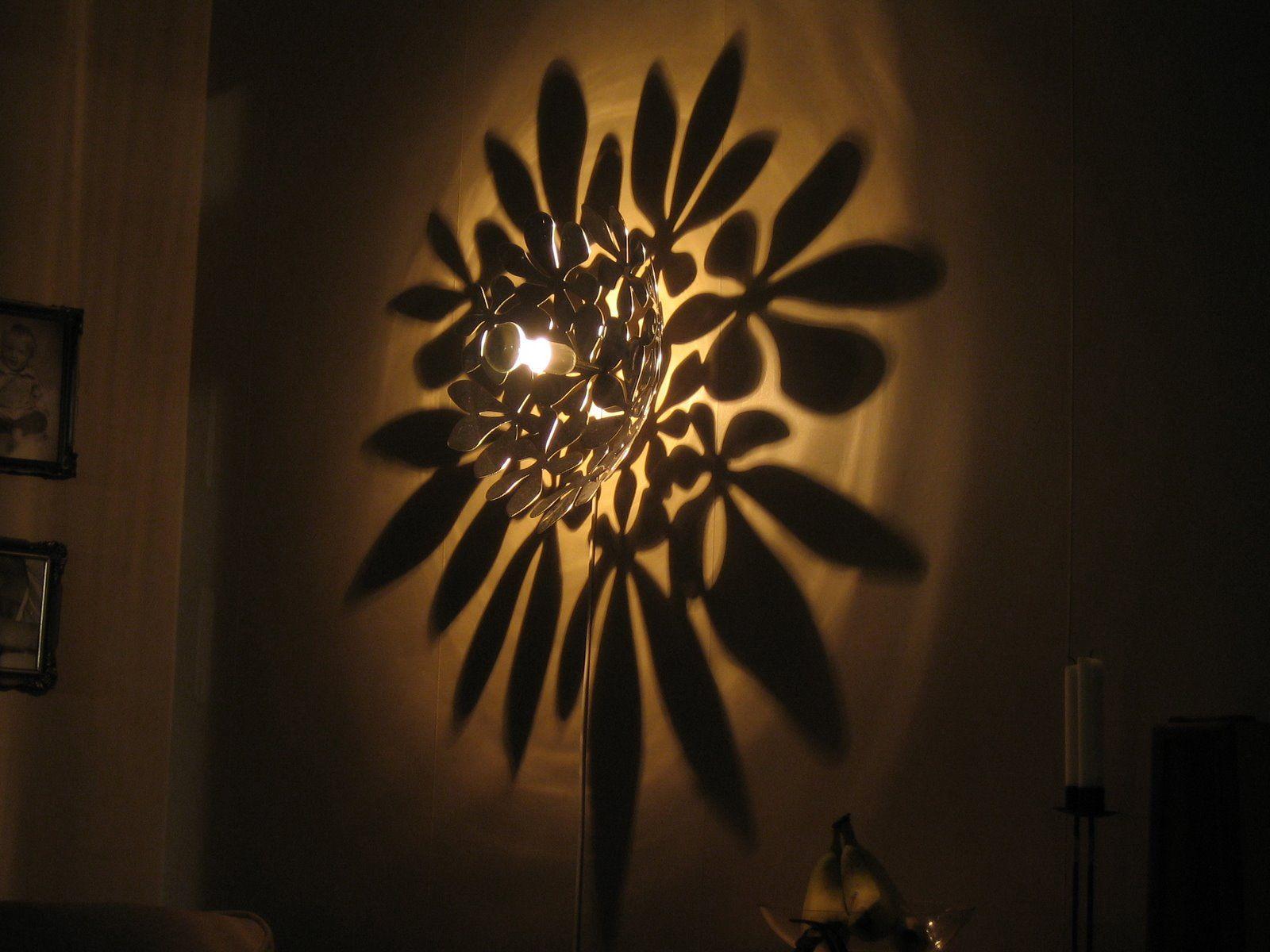 wall lamp, pattern