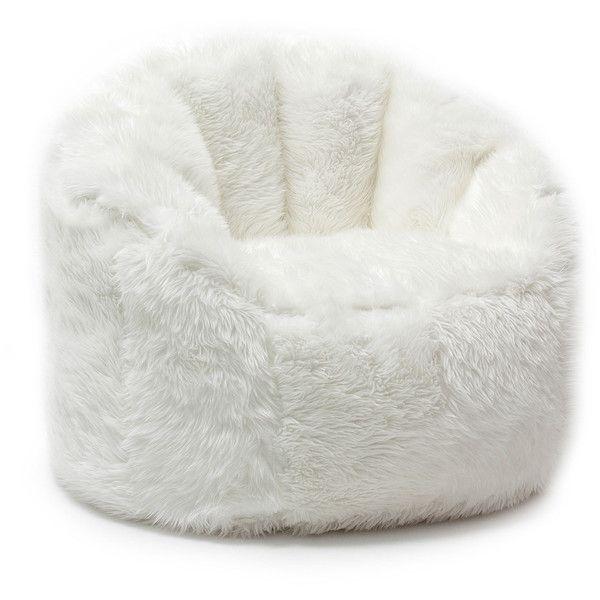 Comfort Research BeanSack Big Joe Milano Faux Fur Bean Bag Chair 122 Liked