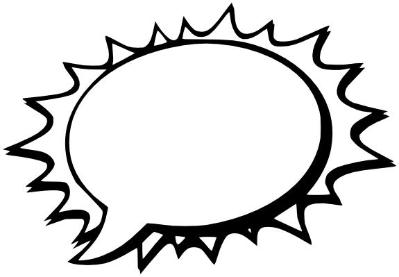 speech bubble comic 02 | Images -Bulles- | Pinterest | Bubbles and ...