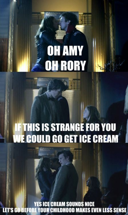 amy and rory kiss doctor - Google-søk