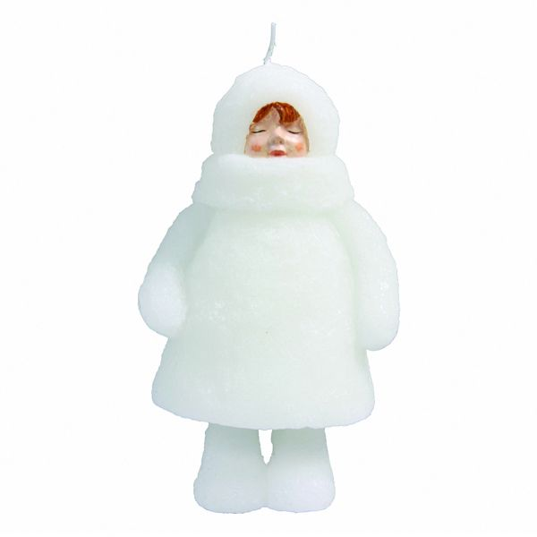 &Klevering- Candle Snowdoll Closed Eyes