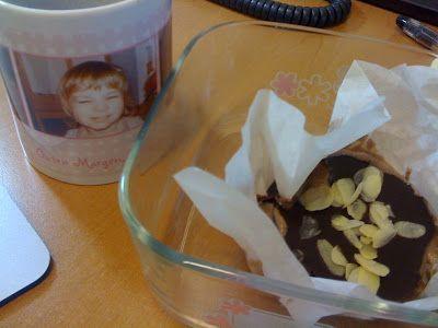 Petra challengt (?) weiter, diesmal mit Mini-Cakes mit Espressocreme