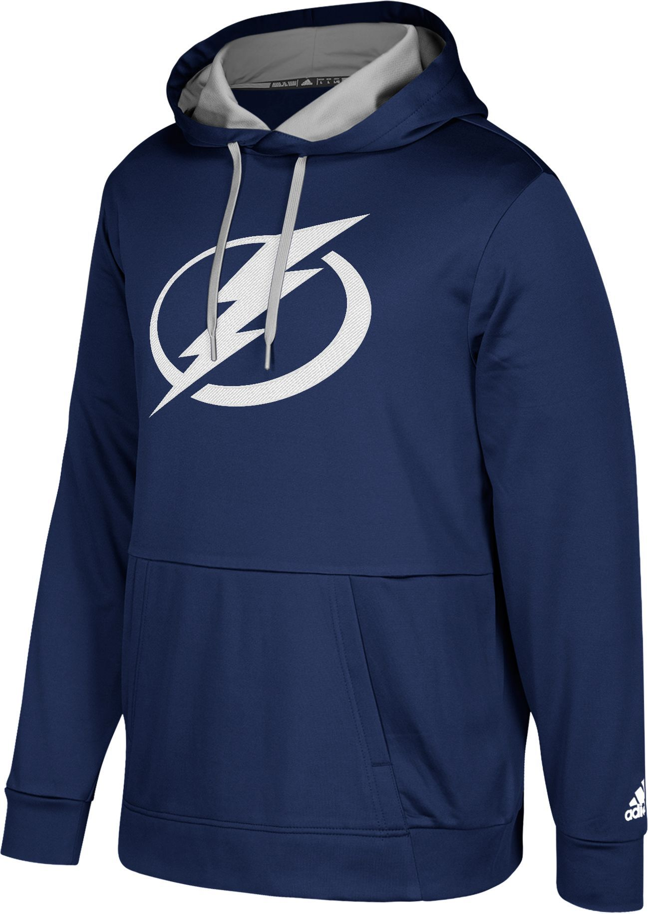 brand new 6be7d d63ab adidas Men's Tampa Bay Lightning Navy Performance Pullover ...