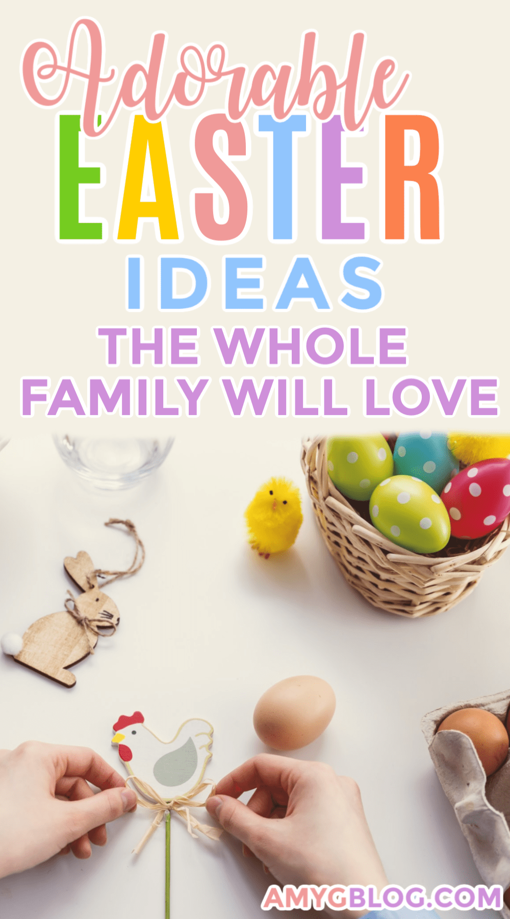 Easter Ideas For The Whole Family In 2020 Easter Activities For