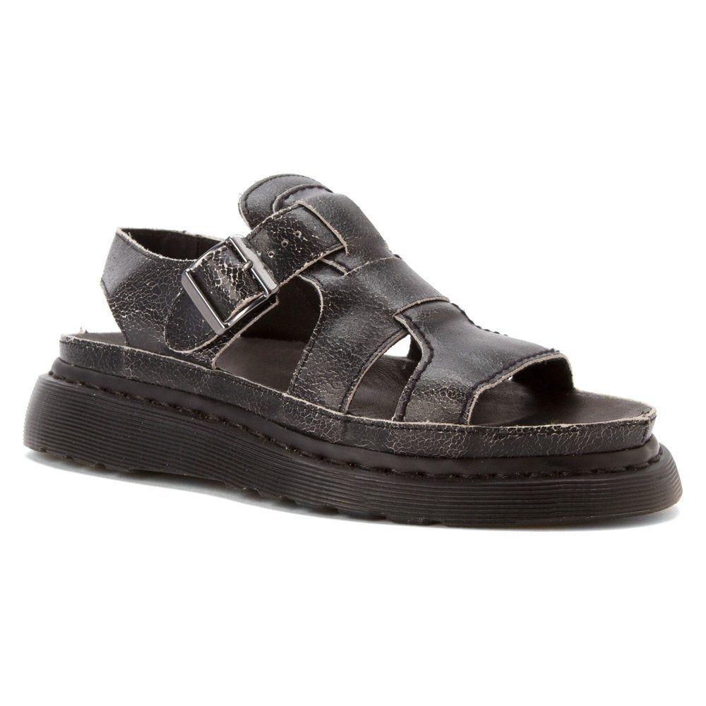 Dr martens asha sandals black shoes bags for Amazon dr martens