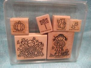 "Stampin' Up ""Fall for All"" Stamp Set 