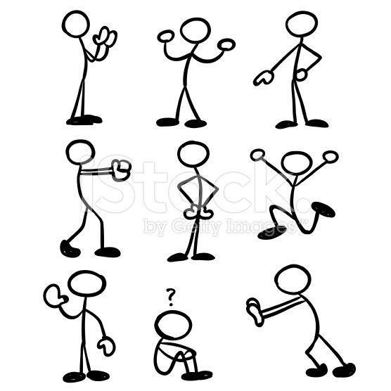 Resultado De Imagem Para Stickman Icons Bujo Tipos De Dibujo Caricaturas De Niños Dibujo De Figura