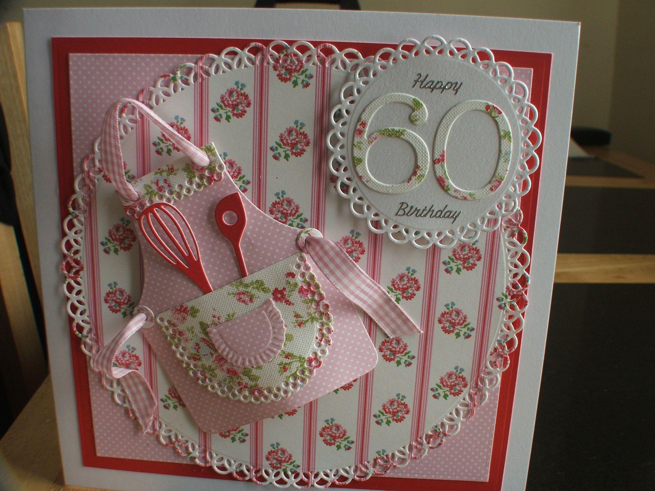 60th Birthday Card Card Ideas Pinterest